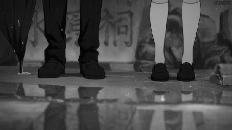 Анимация Мужчина с девушкой под дождем (© Seona), добавлено: 02.06.2015 16:40