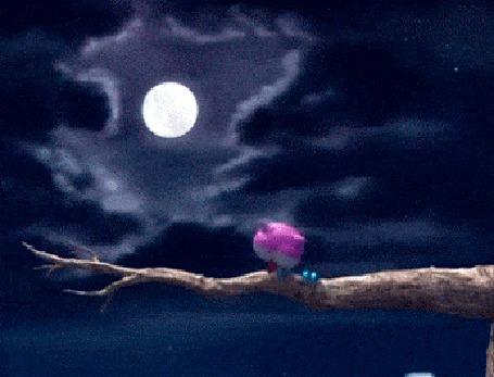 Анимация Лунной ночью сова сидит на дереве, считает баранов и засыпает (© 16061984), добавлено: 03.06.2015 00:13