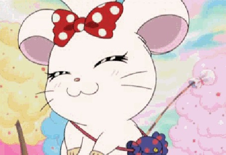 Анимация Хомячок из аниме Tottoko Hamutarou / Тотоко Хамутаро (© zmeiy), добавлено: 08.06.2015 16:39