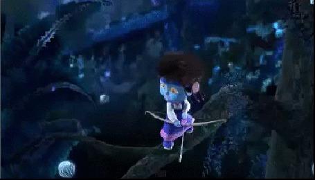 Анимация Миша угарает над Машей-Аватар. Фрагмент из мультсериала Маша и Медведь