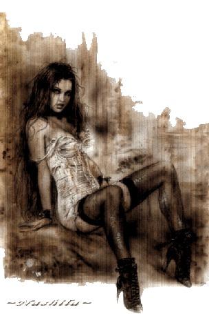 Анимация Девушка под дождем (© qalina), добавлено: 11.06.2015 06:02