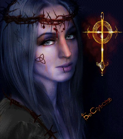Анимация Девушка перевоплощающаяся из ведьмы, в нежную фею