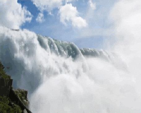 Анимация Ниагарский водопад / Niagara Falls (© Natko), добавлено: 23.06.2015 12:04