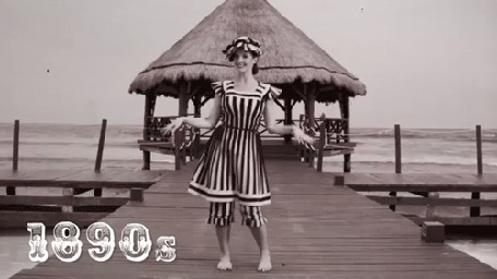 Анимация Девушка танцует на причале, 1890 (© zmeiy), добавлено: 26.06.2015 08:37