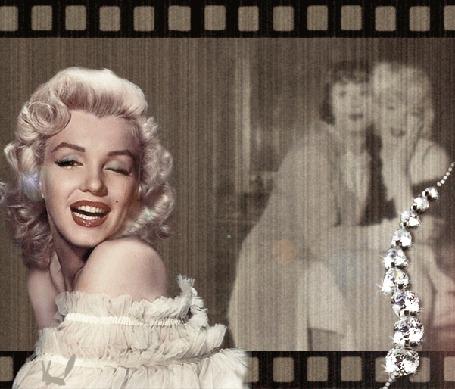 Анимация Красавица Мерилин Монро / Marlyn Monroe, кадр из фильма В джазе только левушки
