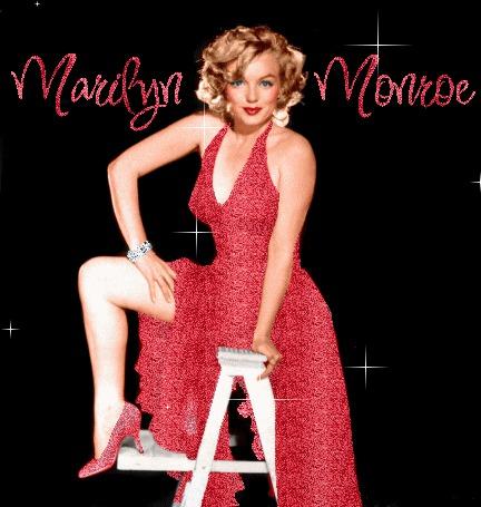 Анимация Красавица Мэрилин Монро / Marilyn Monroe