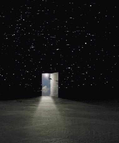 Анимация Открытая дверь и космос (© Solist), добавлено: 08.07.2015 17:56