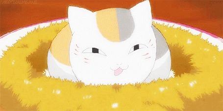 Анимация Nyanko-sensei / Нянко-сенсей из аниме Natsume's Book of Friends / Natsume Yuujinchou / Тетрадь дружбы Нацумэ (© chucha), добавлено: 09.07.2015 00:21