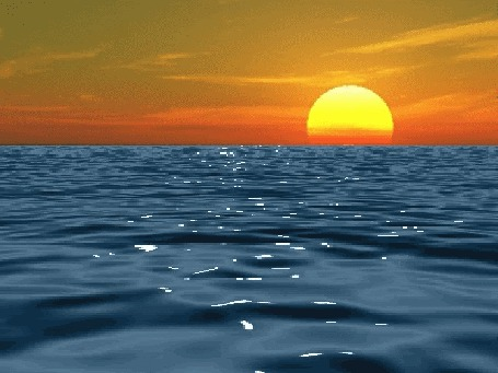 Анимация Море на закате (© zmeiy), добавлено: 12.07.2015 17:41