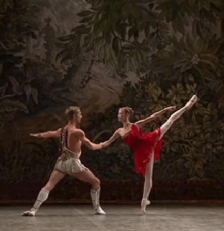 Анимация Парень с девушкой танцуют балет (© zmeiy), добавлено: 14.07.2015 10:29