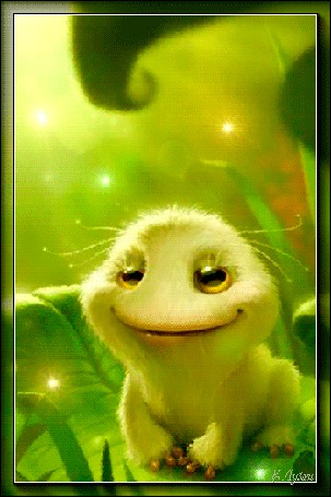 Анимация Плюшевая игрушка с улыбкой и сияющими глазами / Е, Лузан,/ (© qalina), добавлено: 16.07.2015 19:57