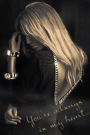 Анимация Девушка грустит, You are always in my heart / ты всегда в моем сердце (© zmeiy), добавлено: 27.07.2015 13:40