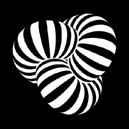 Анимация Крутящаяся полосатая абстракция (© Ловетта), добавлено: 31.07.2015 09:07