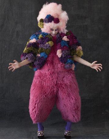 Анимация Клоунесса в розовом наряде (© phlint), добавлено: 01.08.2015 12:03