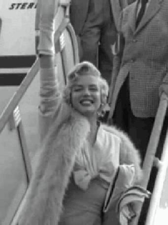 Анимация актриса у трапа самолета (© zlaya), добавлено: 02.08.2015 19:39