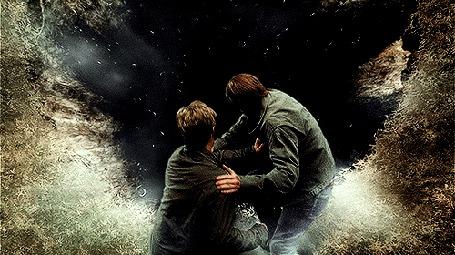 Анимация Двое мужчин падают в пропасть (© Anatol), добавлено: 08.08.2015 00:48