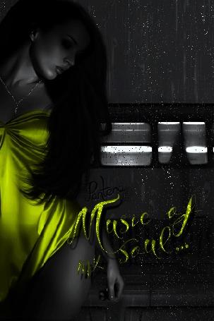 Анимация Девушка на фоне проходящего поезда и дождя (Music of my soul / Музыка моей души), автор Pantera