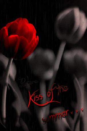 Анимация Красный тюльпан на темном фоне / Kiss ofthe summer / Pantera/ (© qalina), добавлено: 08.08.2015 17:35