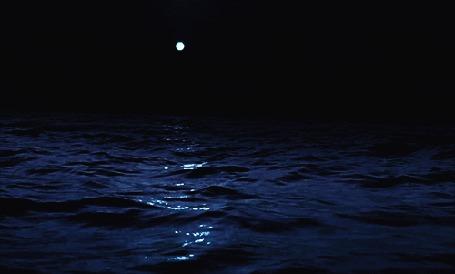 Анимация Луна над водой на ночном небе (© zmeiy), добавлено: 09.08.2015 19:30