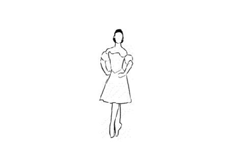 Анимация Силуэт танцующей балерины (© Solist), добавлено: 11.08.2015 16:34