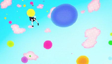 Анимация Тamako Кitashirakawa / Тамако Киташиракава и Дэра / Dera из аниме Лавочка Тамако / Tamako Market