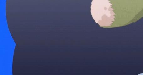 Анимация Девочка с самолетиком (© zmeiy), добавлено: 18.08.2015 14:20