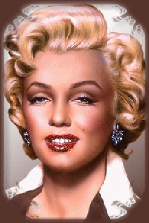 Анимация Красавица Мэрилин Монро / Marilyn Monroe (© zlaya), добавлено: 06.09.2015 10:26