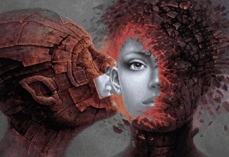 Анимация Мужчина шепчет что-то на ухо девушке (© NoFan), добавлено: 06.09.2015 22:59