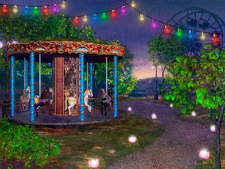 Анимация Парк развлечений после закрытия (© Миропия_Мира), добавлено: 18.09.2015 17:23