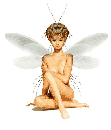 Анимация Обнаженная девушка эльф сидит с крабом на голове (© phlint), добавлено: 21.09.2015 13:20