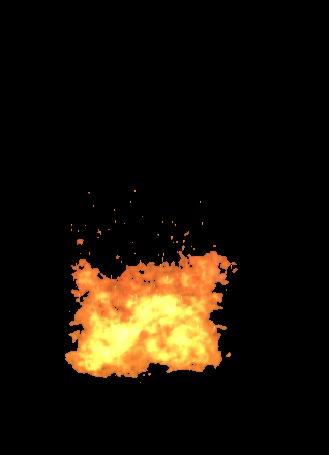 Анимация Пламя на прозрачном фоне