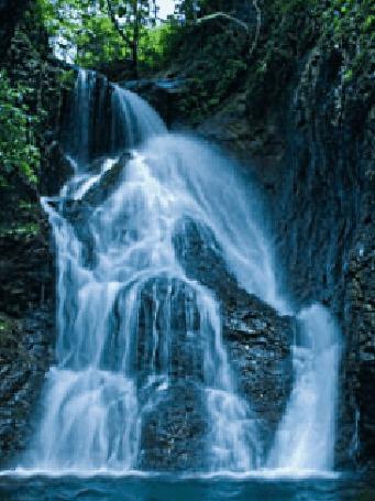 Анимация Водопад в горах (© МилаДЖИ), добавлено: 06.10.2015 13:25