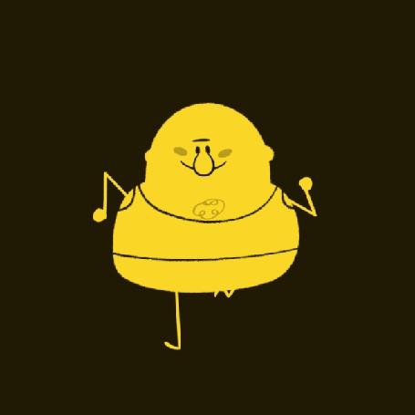 Анимация Бегущий желтый человечек (© zmeiy), добавлено: 12.10.2015 09:22