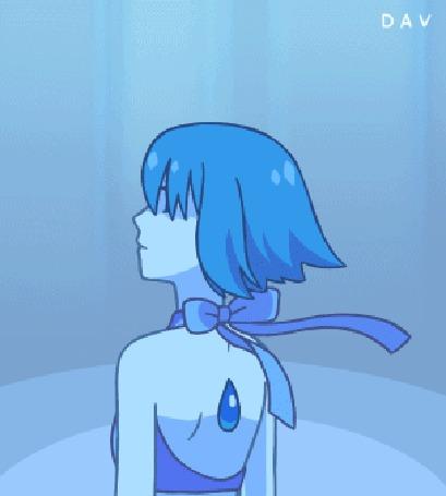 Анимация Ляпис Лазурит или Ляпис Лазурь / Lapis Lazuli из мультсериала Вселенная Стивена / Steven Universe, by DAV-19 (© zmeiy), добавлено: 20.10.2015 09:43