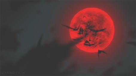 Анимация Стая летучих мышей, отрывок из аниме Хеллсинг / Hellsing (© chucha), добавлено: 23.10.2015 10:35