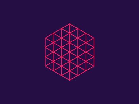 Анимация Кристаллическая решетка поворачивается в пространстве (© Anatol), добавлено: 23.10.2015 17:36