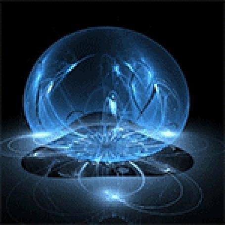 Анимация Вращающийся голубой шар (© zmeiy), добавлено: 24.10.2015 10:40