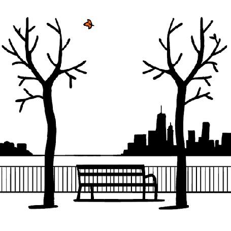 Анимация Ветки деревьев отбрасывают осенний лист