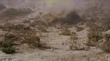 Анимация Попурри из фильма Катастрофа и мультфильма Крот (© Anatol), добавлено: 05.11.2015 01:30