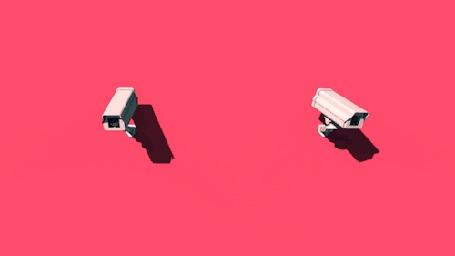 Анимация Две телекамеры следят друг за другом (© Anatol), добавлено: 05.11.2015 16:36