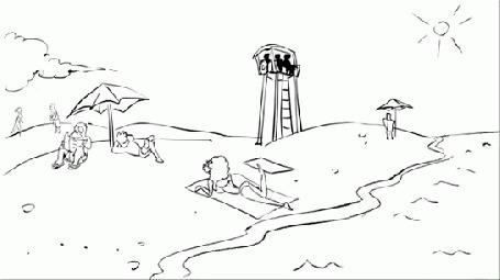 Анимация Герои русских былин Три богатыря спасают корабль Титаник, но ненадолго