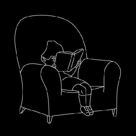 Анимация Мальчик с книгой в руках, не находит себе места в кресле (© zmeiy), добавлено: 10.11.2015 16:42