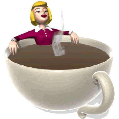 Анимация Девушка сидит в горячей чашке кофе (© zmeiy), добавлено: 18.11.2015 19:18