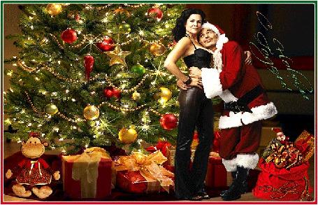 Анимация Мужчина обнимает девушку у новогодней елки (с новым годом) (© ДОЛЬКА), добавлено: 14.12.2015 01:21