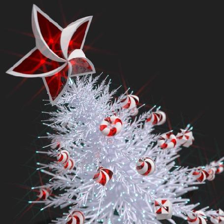 Анимация Новогодняя елка с шарами и звездой (© zmeiy), добавлено: 28.12.2015 10:12