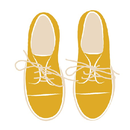Анимация Желтые туфли с цветами (© zmeiy), добавлено: 29.12.2015 22:58
