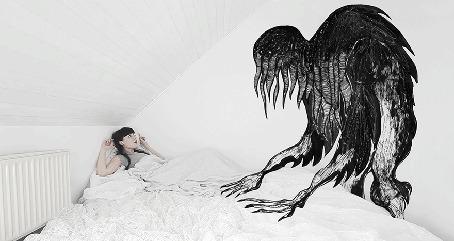 Анимация Проблемы со сном - сонный паралич и ночные страхи