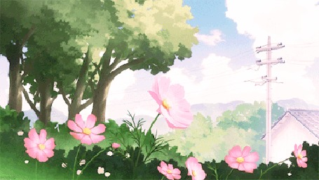 Анимация Цветы раскачиваются от ветра (© chucha), добавлено: 18.03.2016 00:24