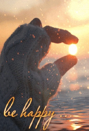 Анимация В руке девушки солнышко, (be happy / будь счастлив) (© zmeiy), добавлено: 20.03.2016 13:23