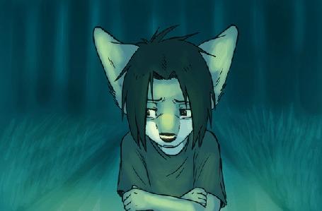 Анимация Фурри волчонок плачет (© JeremeVoods), добавлено: 24.03.2016 03:35